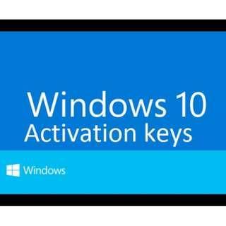 Ori Windows 10 activation key
