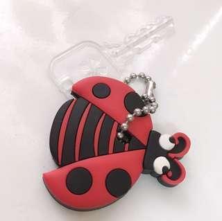 小瓢蟲造型鑰匙圈