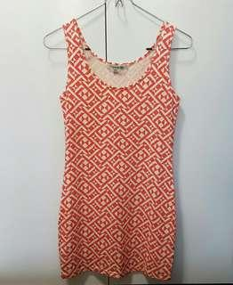 🚚 Forever 21 Geometric Stretchable Tank Top Dress