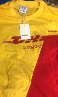 Vetements x DHL t-shirt