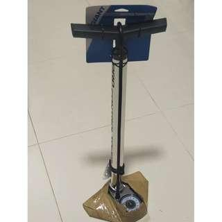 Control Tower Pro Chrome Floor Pump 220 PSI