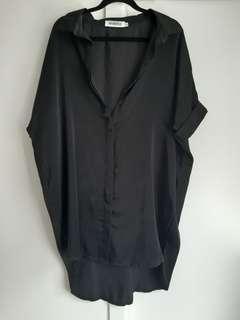 Black reverse dress