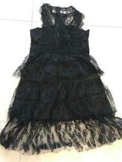 Black Lace Dress from Vietnam