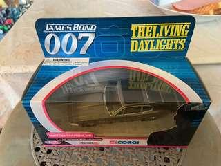 Rare James Bond Corgi 1/36 The Living Daylights Aston Martin V8
