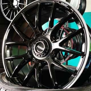 "G27 18"" (REP) Gloss Black 5X114.3"
