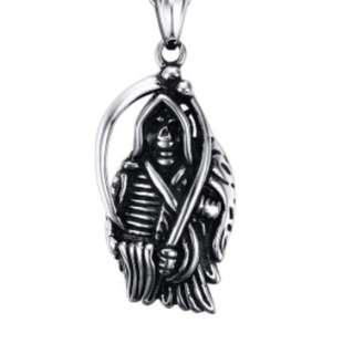 🚚 God of death fashion Pendant necklace