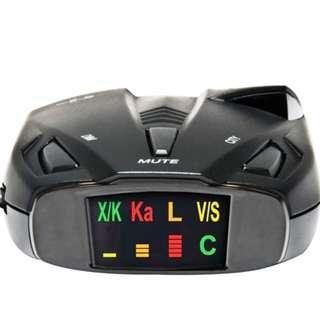 Cobra ESD7570 9-Band Anti-Radar Laser Detector 360 Degree Detection