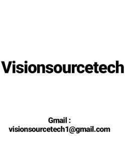 Visionsourcetech