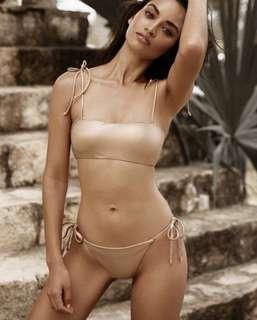 Beach Bunny Rose Gold Bikini