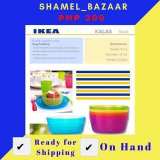 IKEA KALAS BOWL SET OF 6