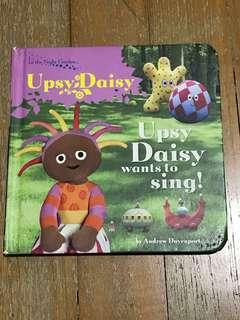 🚚 upsy daisy wants to sing in the night garden children's book