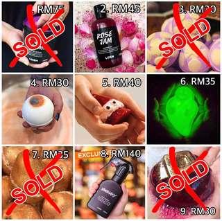 LUSH READY STOCK OFFER!!