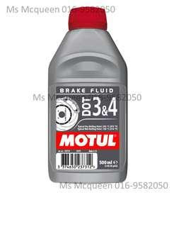 Motul Dot 3& 4 Brake fluid 500ML