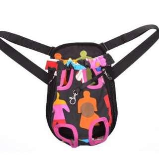 Cosmos Dog Cat Legs Out Travel Bag Pet Carrier, People Medium