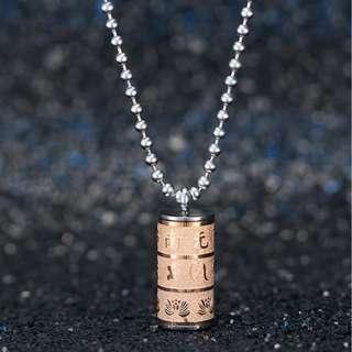 🚚 Buddhism Religonal Pendant Necklace, wish you good fortune