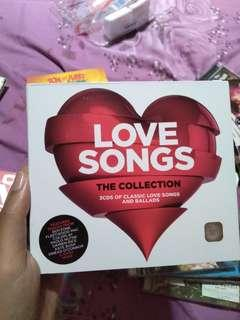 """Album musik """"Love Songs The Collection 3cds of classic love songs and ballads"""" murah original cd/vcd/dvd"""
