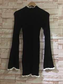 Brand new Forever 21 Black Knitted Dress