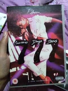 Album Tour Rihanna documentary coutries 7 days shows origin murah cd/dvd/vcd