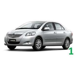 $220 Weekend Car Rental Toyota Vios