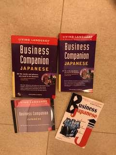 🚚 Business Japanese Language Learning Audio CD & Books *FREE TRACKED SHIPPING*
