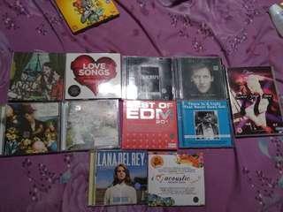 CD/DVD/VCD TAKE ALL 100K dapet 11 CD ORIGINAL MURAH