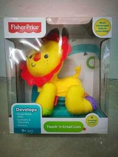 Fisher Price Touch and Crawl Lion