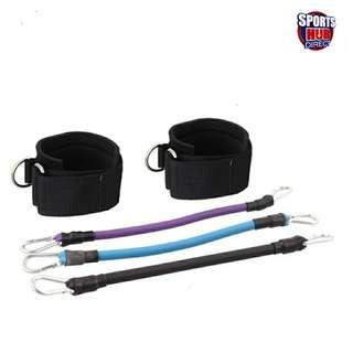 🚚 Ankle/Leg Fitness Resistance Bands - 3 Tension Bands