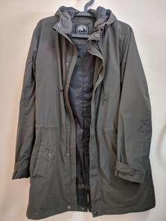 🚚 軍裝風衣外套