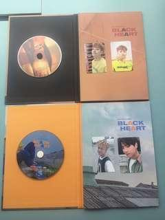 UNB Black Heart album 2 versions $60/1 or $110/2