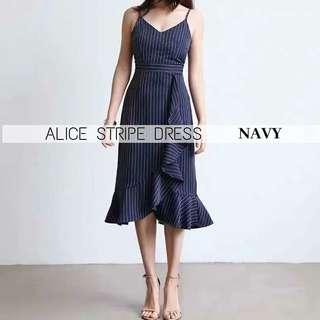 Alice Stripe Dress