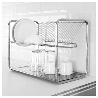 Ikea Ordning Dish Drainer Stainless Steel