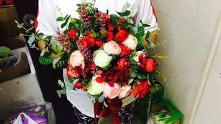 huameimei Bridal bouquet Rental $30