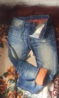 SCOTCH & SODA AMSTERDAMS BLAUW JEANS
