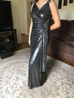 Dark Grey Evening Dress
