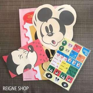 MICKEY MOUSE LETTER SET