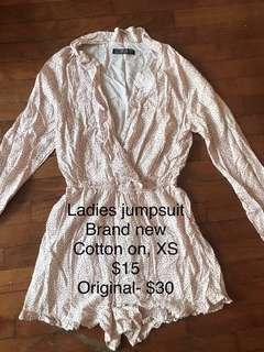 🚚 Cotton on jumpsuit brand new size XS