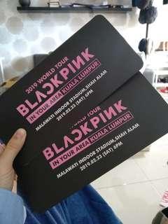 Blackpink ticket RedZone