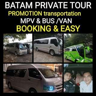 BATAM PROMO PRICE BUS&VAN Hiace (http://www.wasap.my/+6281365032800