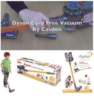 Casdon Dyson Cord-free 玩具吸塵器