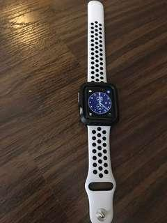 Apple watch series 3 - with 2 original bands