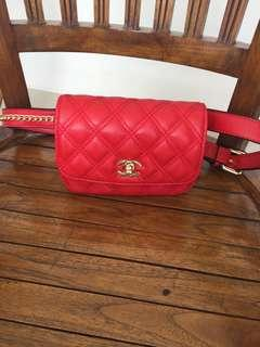 Channel Red Bag Premium Preloved