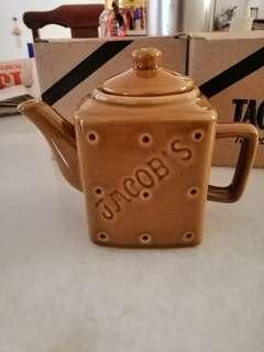 Jacob's Cream Cracker CeramicTeapot