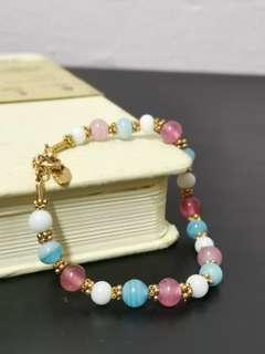 🚚 Rainbow Beaded Bracelet