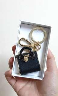 Michael Kors black hamilton key charms