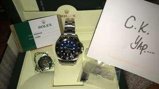rolex blue green white colour