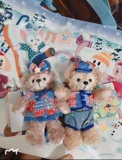 Disney Duffy 15週年絕版掛飾 達菲