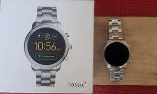 Fossil Q smart watch GEN 3 with box (warranty available)