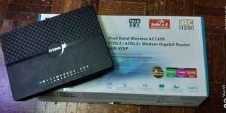 Dlink VDSL / ADSL + Gigabit Router AC1200