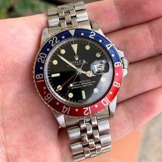 🚚 Vintage Rolex GMT 1675 Gilt