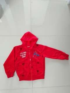 Boys spiderman sweater